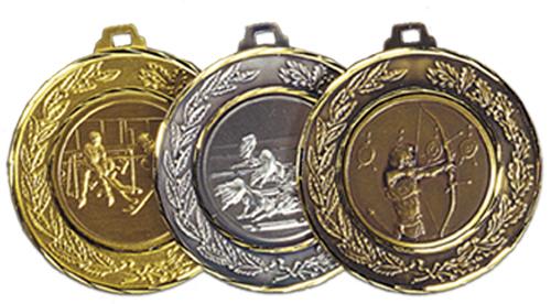 Medalj mässing