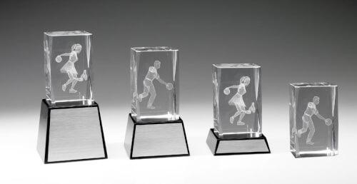 Bowlingstatyett glas