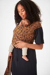 Coracor Zebra Terracotta Baby wrap