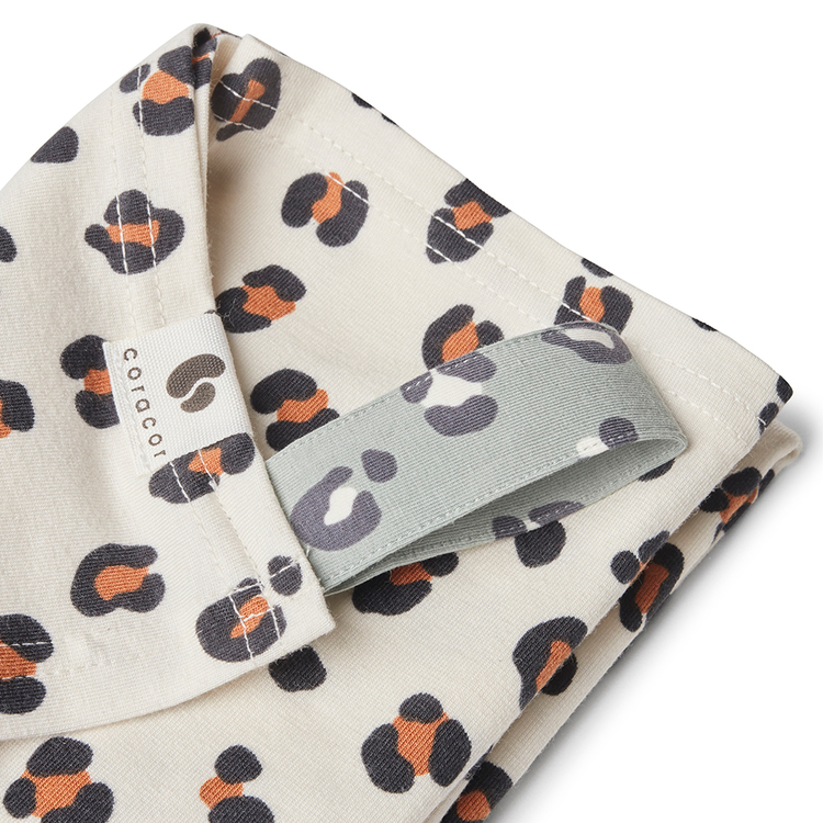 Coracor Leo Off-White Baby blanket