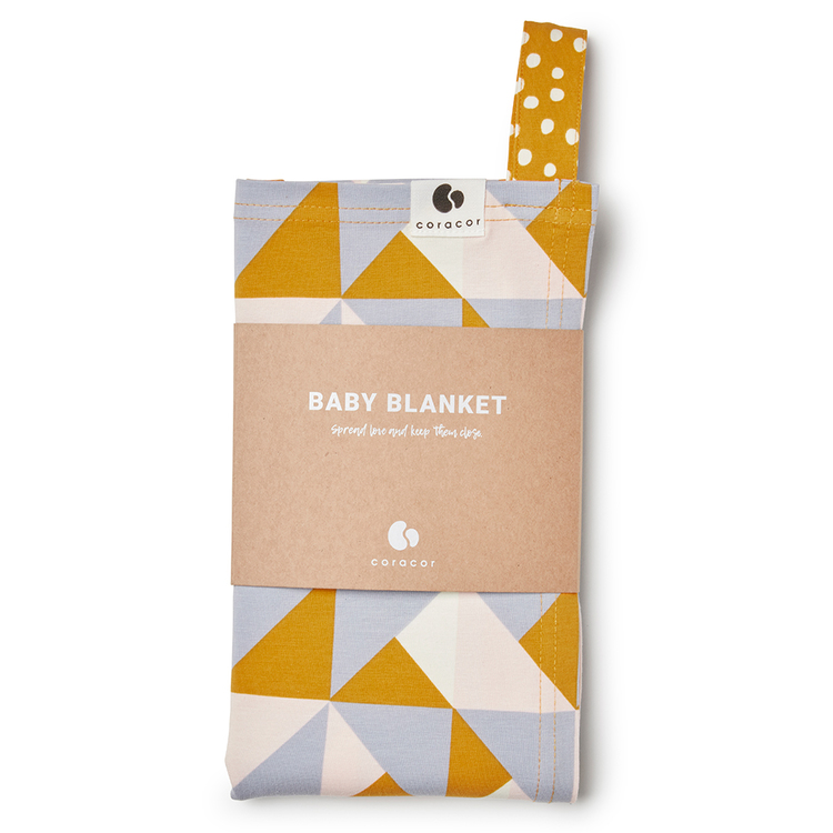 Coracor Multi Triangle Baby blanket