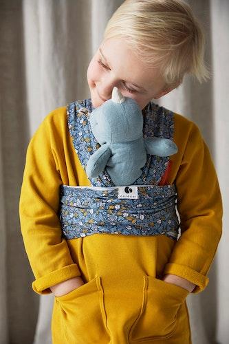 Coracor Tinyflower Blue Kids Wrap