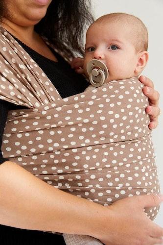 Coracor Big Dot Taupe Baby wrap