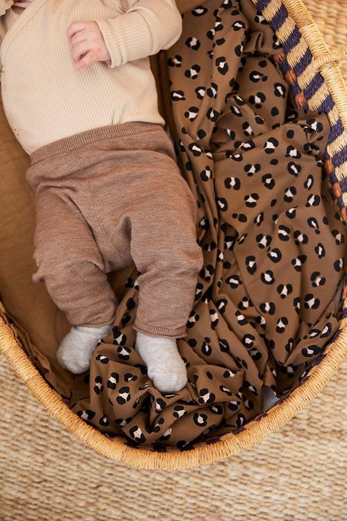 Coracor Leo Toffee Babyfilt