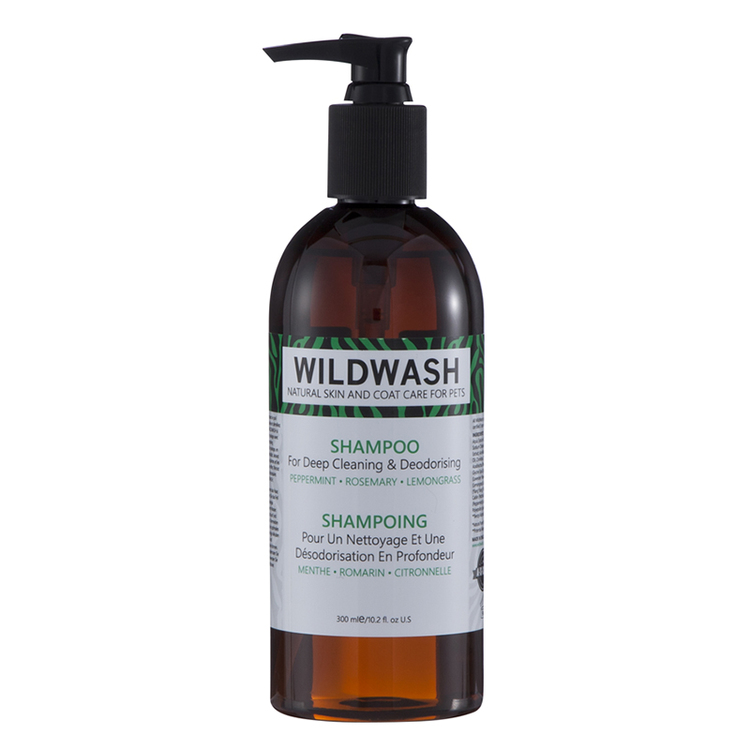 WILDWASH PRO Schampo For deep cleaning and deodorising - Djuprengörande