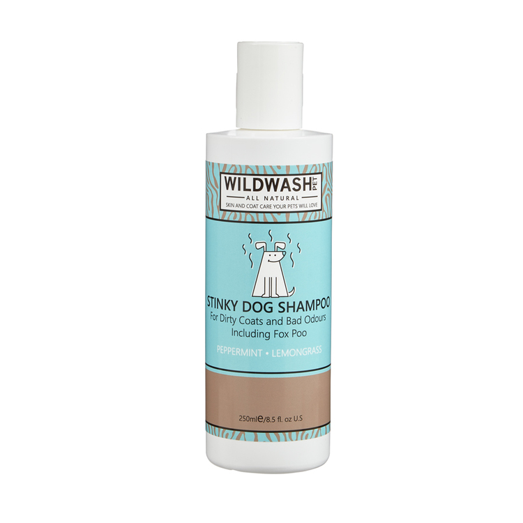"WILDWASH PET Schampoo - Djuprengörande ""Stinky Dog"""