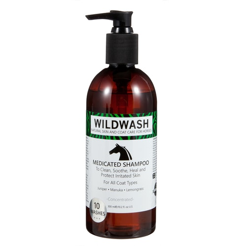 WILDWASH HORSE Medicated Schampoo - Milt schampoo sensitive