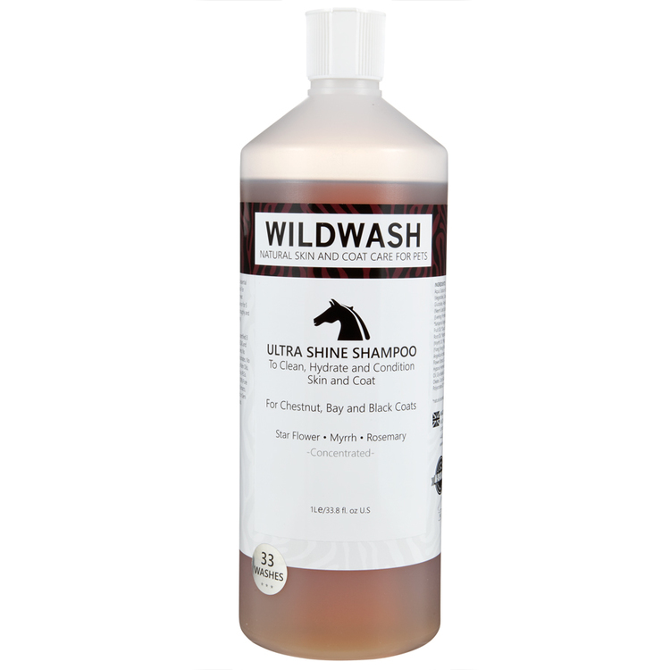 WILDWASH HORSE Ultra Shine Schampoo - Glansschampoo