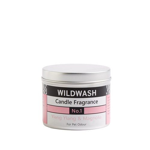 WildWash Natural Candle in a tin  Fragrance No.1