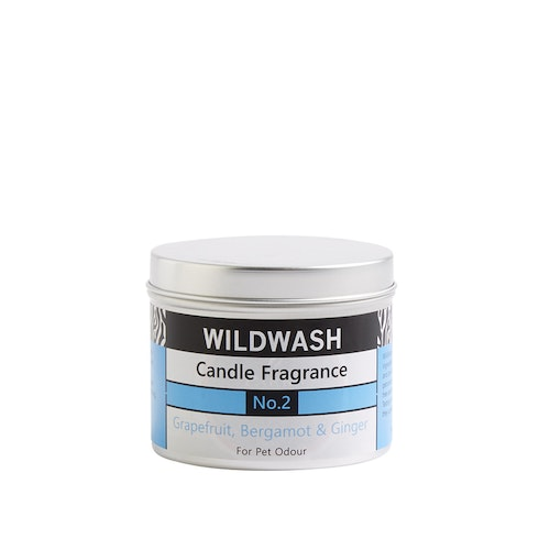 WildWash Natural Candle in a tin Fragrance No.2