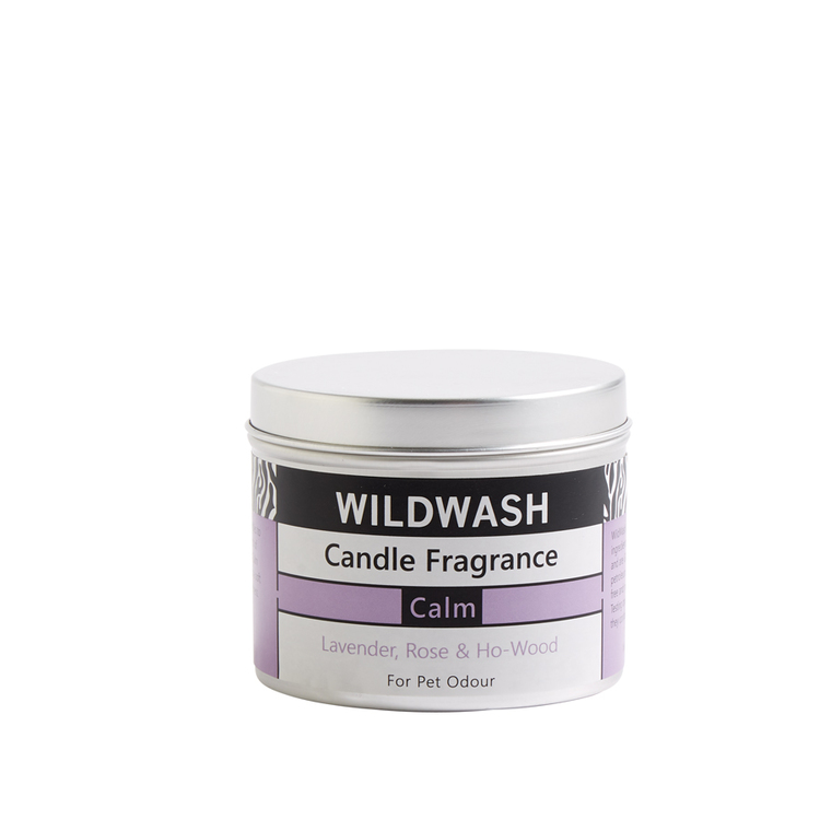 WildWash Natural Candle in a tin Calm - Rogivande