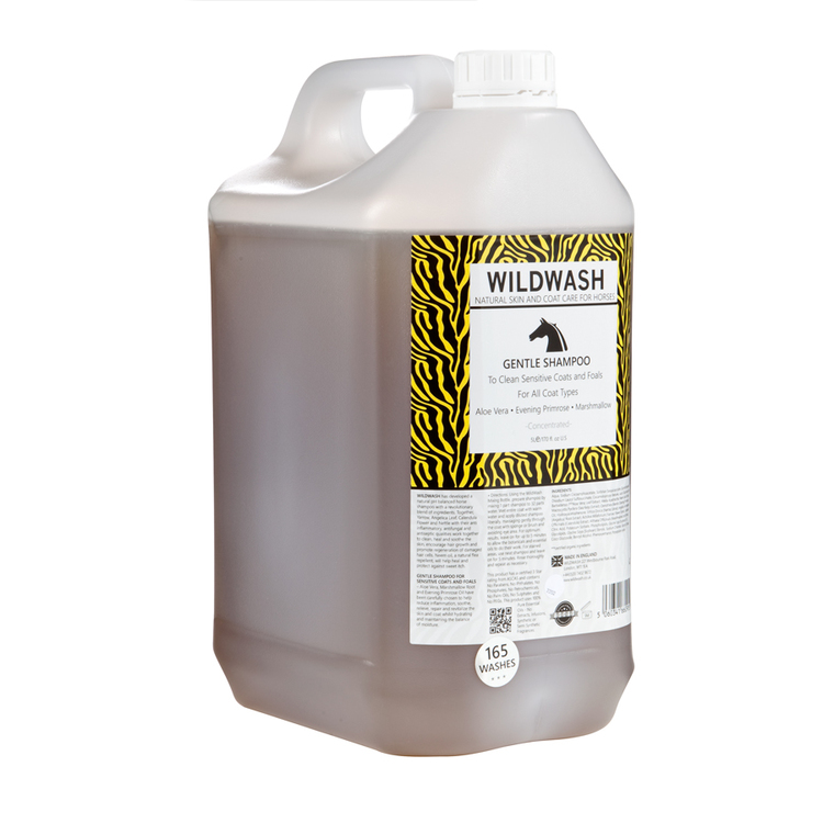 WILDWASH HORSE Gentle Schampoo - Milt schampoo sensitive
