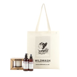 WildWash Glass Candle Gift Set Fragrance No.1 - Aromaterapi Presentset