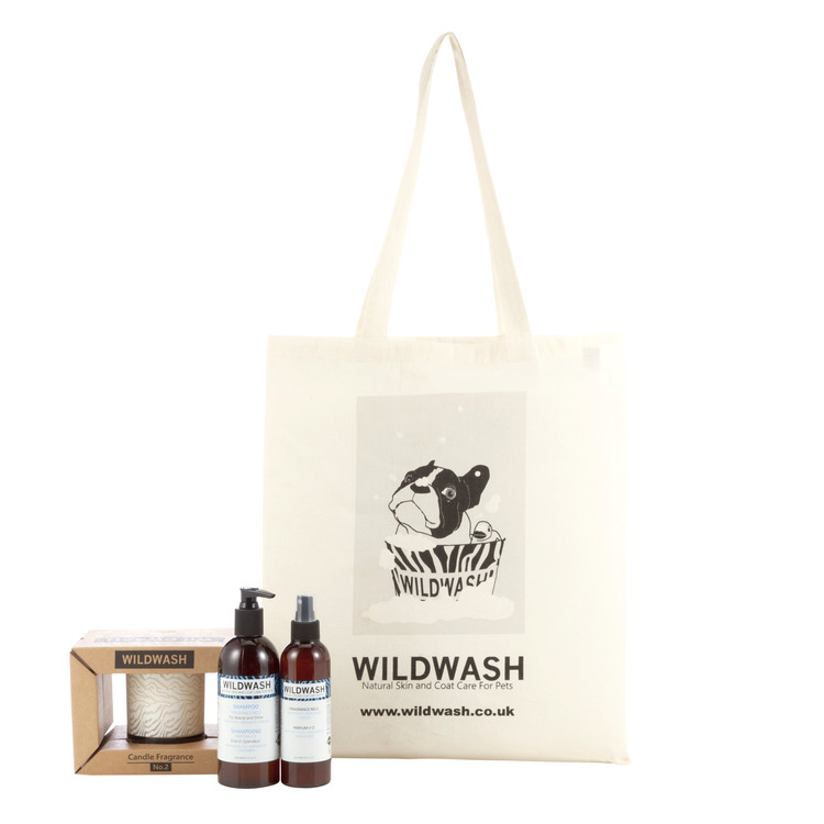 WildWash Glass Candle Gift Set Fragrance No.2 - Aromaterapi Presentset
