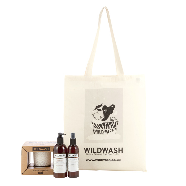 WildWash Glass Candle Gift Set Fragrance No.3 - Aromaterapi Presentset
