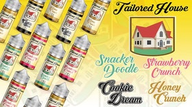Tailored House - Strawberry Crunch 50ml+ shortfill (60ml-flaska)