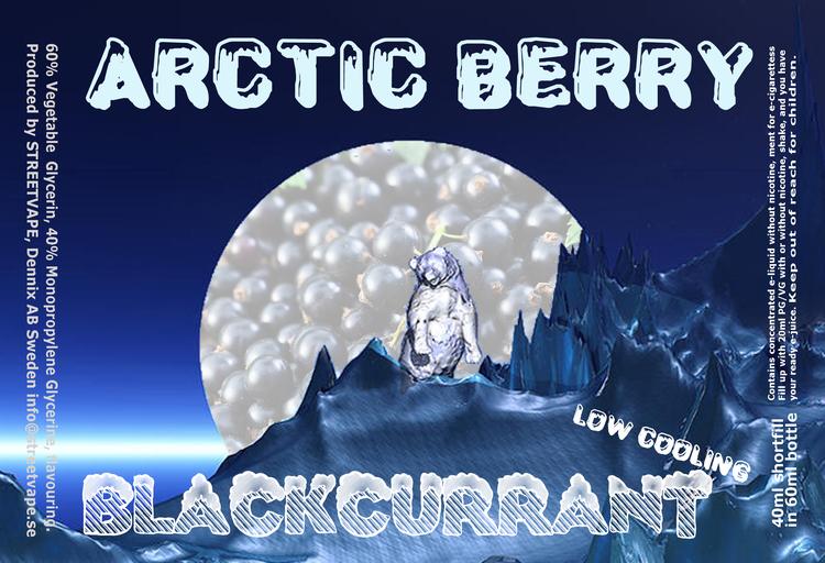 Arctic Berry 40ml++ - Blackcurrant