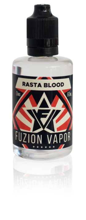 Fuzion Rasta Blood 50+10ml shortfill