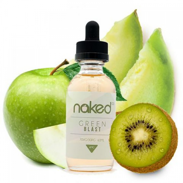 Naked 100 Green Blast 50+10ml shortfill