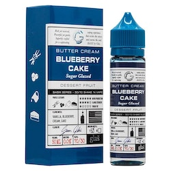 GLAS Bluberry Cake 50+10ml shortfill