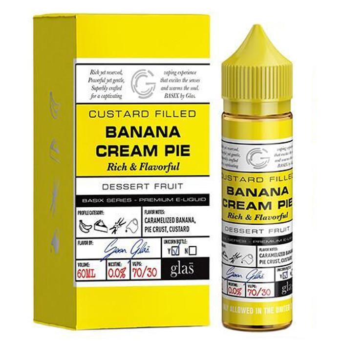 GLAS Banana Cream Pie 50+10ml shortfill