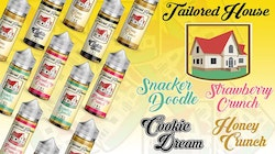 Tailored House - Cookie Dream 100ml++ shortfill (120ml-flaska)