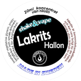 Lakrits 20ml shortfill