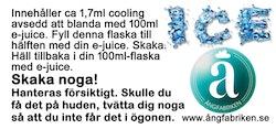 Cooling - till 100ml