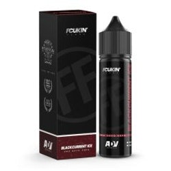 Fcukin' Flava - Blackcurrant ICE  - 40ml shortfill i 60ml flaska