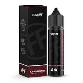 Fcukin' Flava - Blackcurrant ICE  - 40ml shortfill i 60ml flaska