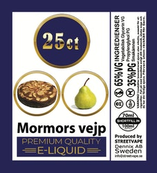 25ct - MORMORS VEJP - 60/100ml flaska