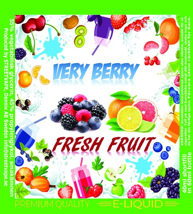 VERY BERRY - Fresh Fruit