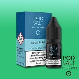 Pod Salt Core - 10ml - Blue Berg
