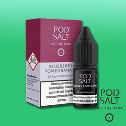 Pod Salt Core - 10ml - Blueberry Pommegranat