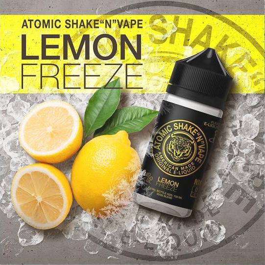 Atomic - 50ml+ - Lemon Freeze