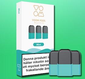 VOOM - pod med smak  av SPEARMINT 3-pack