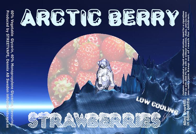 Arctic Berry 40ml++ - Strawberries