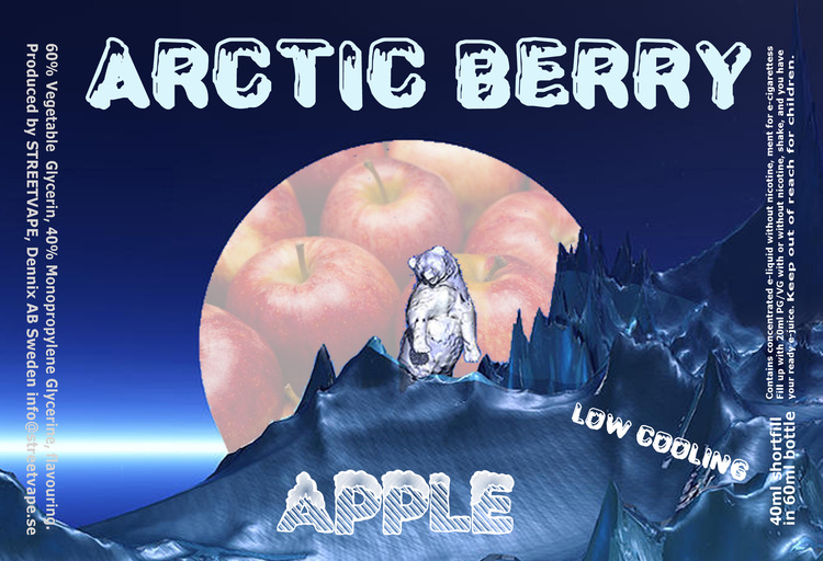Arctic Berry 40ml++ - Apple