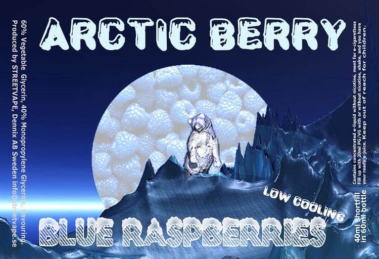 Arctic Berry 40ml++ - Blue Raspberries