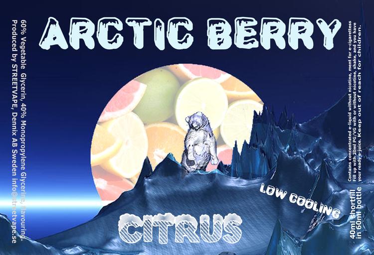 Arctic Berry 40ml++ - Citrus
