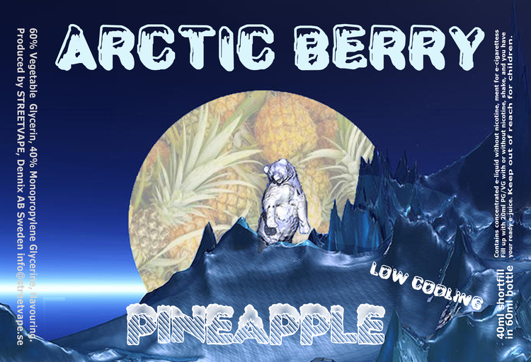 Arctic Berry 40ml++ - PIneapple