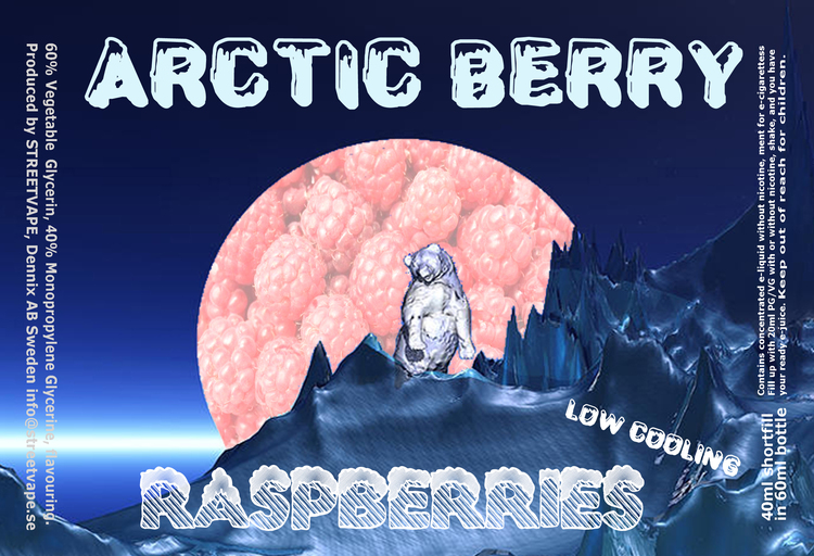 Arctic Berry 40ml++ - Raspberries