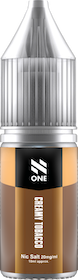 N-one 10ml CREAMY TOBACCO 20mg/ml nic-salt