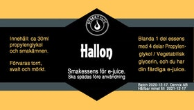Essens 30ml 20% Hallon
