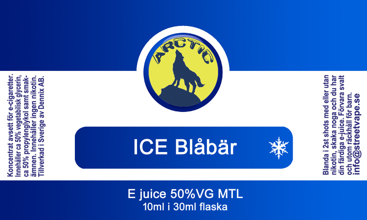10++ Arctic - ICE Blåbär