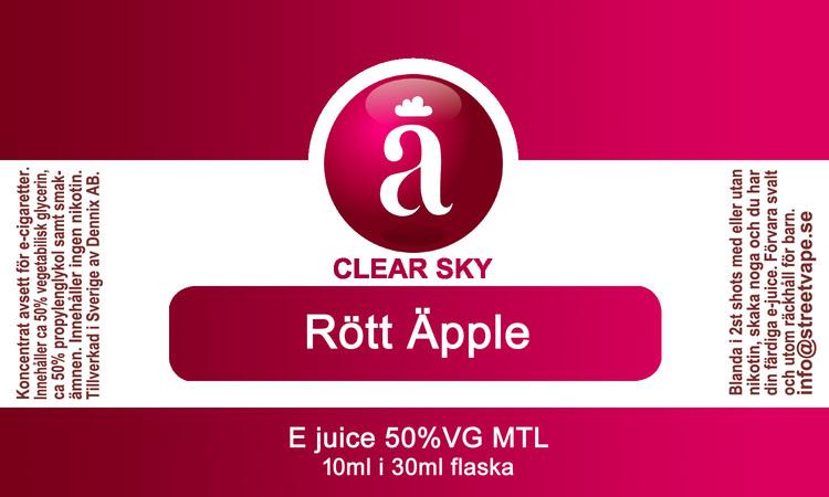 10++ Rött Äpple