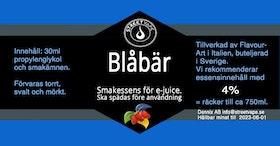 Essens 30ml Blåbär (rek 4%)