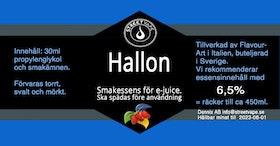 Essens 30ml Hallon (rek 6.5%)