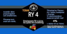 Essens 30ml TOBAK RY4 (rek 4%)