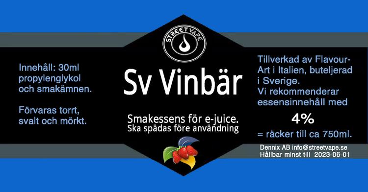 Essens 30ml Svarta Vinbär (rek 4%)